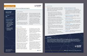 Eliassen Group Business Case Study Template Danica Lee Design