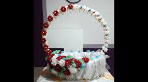 basket making ganpati decoration part 2