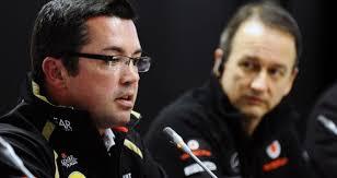 Eric Boullier: New McLaren Racing Director working alongside Jonathan Neale (R). McLaren have appointed Eric Boullier as their new Racing Director as part ... - spain-pr-pr-event-press-conference-formula-one-fans-forum-eric-boullier-jonanthan_3074437