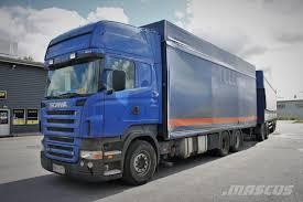 scania r 500 lb 6x4 2006 curtainsider trucks
