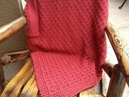 Knitted Lap Blanket Pattern