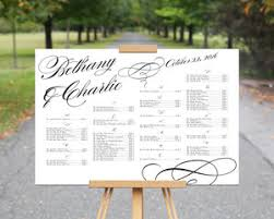 Seating Chart Design Bethany Charlie Seating Chart Design File Only Pdf Kalijo Works