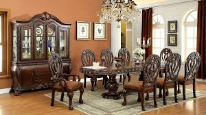 wyndmere royal presence cherry finish formal dining room table 7 piece set