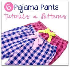 Pajama Patterns Cool Pajama Pants Tutorials Lounge Pant Patterns Kidpep