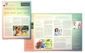 Microsoft Office Publisher Newsletter Templates Microsoft Office Publisher Templates Newsletter Health Clinic