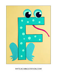 Letter F Craft Template Letter F Craft With Printable F Is For Fire