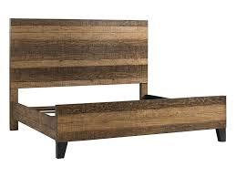 Urban rustic furniture Slab Wood Intercon Urban Rustic Queen Bed Sadlers Home Furnishings Intercon Urban Rustic Rustic Queen Bed With Metal Legs Sadlers