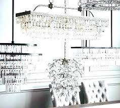 pottery barn clarissa chandelier crystal drop round chandelier glass rectangular by pottery barn small pottery barn