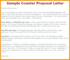 Offer Letter Salary Negotiation Counter Offer Letter Sample Job Examples In ...