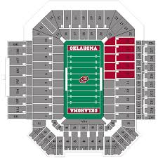 Oklahoma Memorial Stadium Seating Chart Oklahoma Memorial Stadium Seating Chart