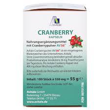 Erfahrungen Zu Avitale Cranberry 100 Stück Medpex Versandapotheke