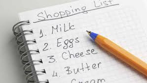 Shopping List Write A Shopping List Clevernotesie 9