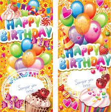 Targetas De Cunpleanos Feliz Cumpleaños Tarjetas Verticales