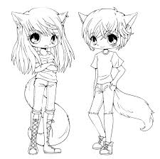 Drawing Coloring Anime Girl Anime Coloring Pages Anime Girl Coloring