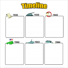 a timeline template 7 timeline templates for kids free word pdf format download