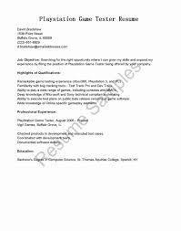Sample Resume Of Manual Tester Beautiful Software Testing