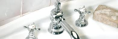 vintage style bathroom faucets antique 3 hole basin set with pop up waste extended spout old