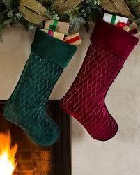 velvet christmas stockings. Plain Stockings Forest Green Florentine Quilted Velvet Stocking Main Intended Christmas Stockings L