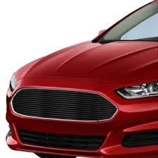 ford fusion blacked out grill. apg® - 1-pc black horizontal billet grille ford fusion blacked out grill l