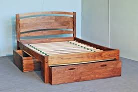 solid wood bed frame traditional