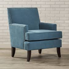 grayson teal accent chair tub the rich and light throughout blue green room arm  chairs amazon