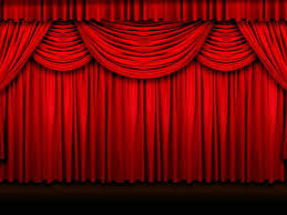 luxurious and splendid stage curtain track system cleaning fabric