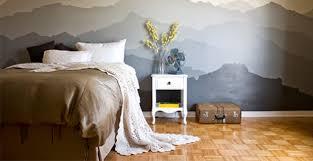 Pareti Azzurro Grigio : Idee per dipingere le pareti sfondi acquerellati e paesaggi naturali