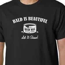 Glatzköpfig Ist Schön T Shirt Papa Vater Opa Lustiger Spruch