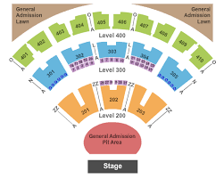 Molson Amphitheatre Detailed Seating Chart L Bryan Amp Row Luchainstitute