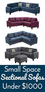 small space sectional sofa. Best Ideas Of Small Space Sectional Sofas Under $1000 Awesome Spaces Sofa