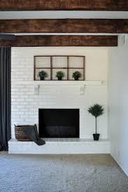 Gray Brick Fireplace Best 20 Update Brick Fireplace Ideas On Pinterest Painting