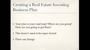 Buying and selling houses business plan