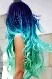 Znalezione obrazy dla zapytania colorful hair