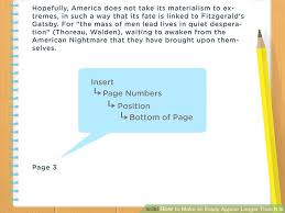 how to make an essay appear longer than it is examples  image titled make an essay appear longer than it is step 10