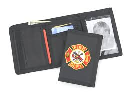 fire department badge wallets best photo wallet justiceforkenny
