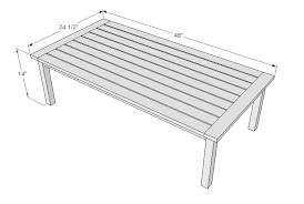 How Tall Is A Coffee Table Rascalartsnyc
