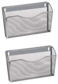 ybm home mesh wall mount file holder