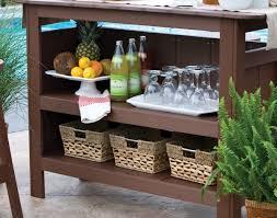 Outdoor Bar Poly Lumber Outdoor Bar