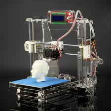 free reprap prusa i3 3d printer 3d diy kit exclusive injection molded lcd screen optional high quality with nice work