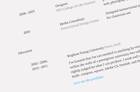 resume good font for resume simple good font for resume