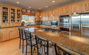 granite tile countertop kitchen island with installing countertops without grout kits