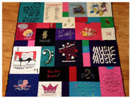 t-shirt quilt prices & The collage style T-Shirt quilt allows more t-shirts to be used in your  quilt. Each shirt is cut with regards to the designs on the shirt. Adamdwight.com