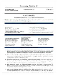 Clinical Research Associate Resume Clinical Research Associate ...