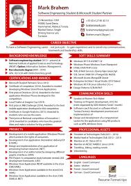 Latest Resume Format Template Design