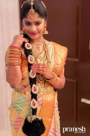 gorgeous south indian wedding bridal hairstyles 6