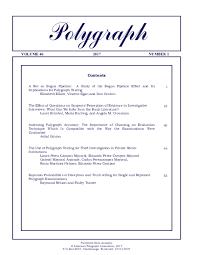 Chart Marking In Polygraph Pdf Polygraph Contents Eduardo Perez Campos Academia Edu