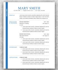 Contemporary Resume Templates 78 Images Modern Resume Template