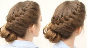 French Braid Updo Hairstyles French Braid Updo Hairstyle Updo Hairstyles Braidsndstyles12