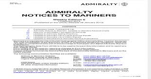 Notices To Mariners Week06_2013 Pdf Document