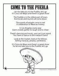 This day is often confused with the mexican independence day in many parts of the us which is. Cinco De Mayo Kids Poems Coloring Pages Woo Jr Kids Activities